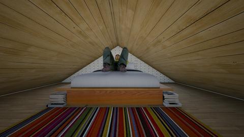 Just Enough Room - Bedroom  - by SammyJPili