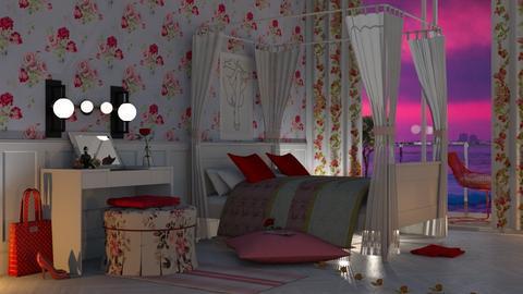 romance - Bedroom  - by nat mi