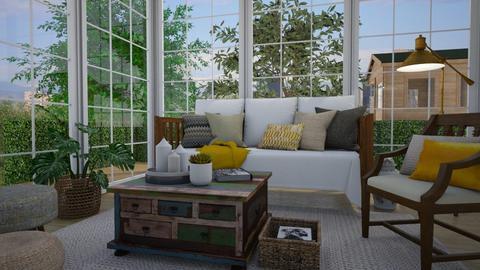 Summer living room - Garden - by Tuija