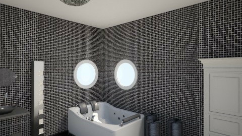 black room - Glamour - Bathroom  - by Angela Quintieri
