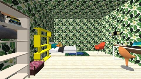 moana styled room - Bedroom  - by adrinetteshipper1214
