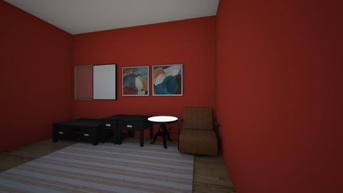 monochromatic number 3 - Living room  - by Ransu2021