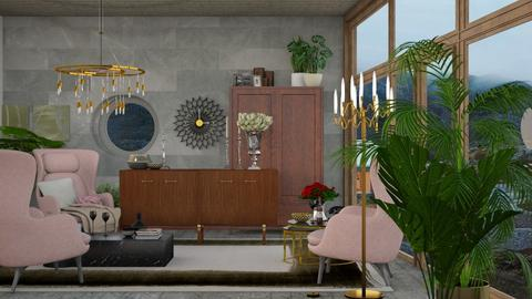 relaxation - Vintage - Living room  - by HenkRetro1960