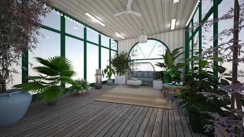 green house - Garden  - by kay91designs