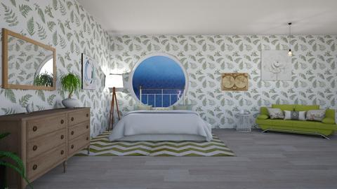 green lightning - Eclectic - Bedroom  - by aschaper
