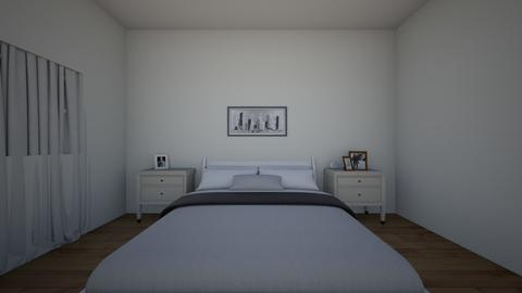 Master Bedroom - Modern - Bedroom  - by Bluelover200