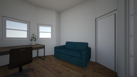 1108 Park Hoboken - Living room - by carolforna