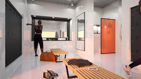 changing room - by siljaj
