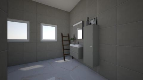 Bathroom - by PinkPanter_10
