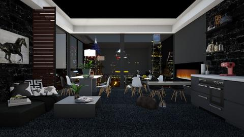 Business Dining - Modern - Bedroom  - by bgref