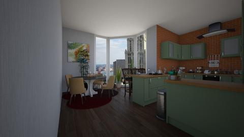kitchen 001 - Kitchen - by dindayudvina
