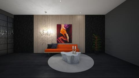 OrangeTwist - Living room  - by christca