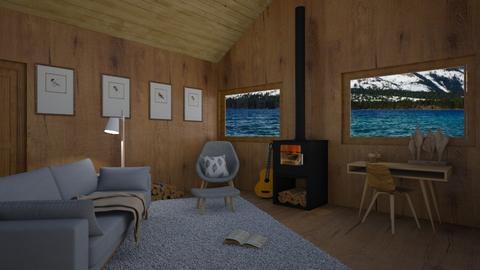 Cabin Contest_Nini_DRW_10 - by Nini_DRW_10
