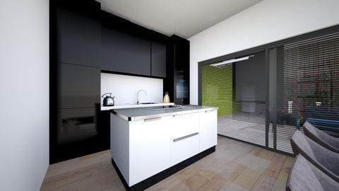 kitchen eiland part 1 - Kitchen  - by Claradanixx