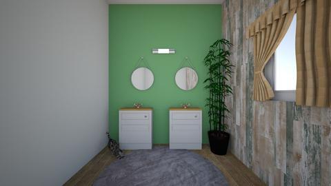 Salle de bain Classique - Classic - Bathroom  - by deleted_1606322529_Ambre_leon
