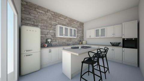kitchen - Minimal - Kitchen  - by Liwia Szymczak
