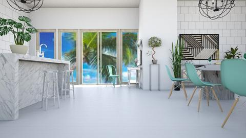 Minimal Beachy - Minimal - Kitchen  - by LeilaniD04
