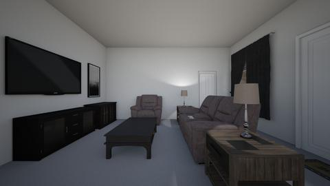 Grey Living Room - Living room  - by mspence03