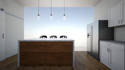 myhome - Kitchen  - by Architectdreams