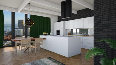 SOW Kitchen - Modern - Kitchen  - by 3rdfloor