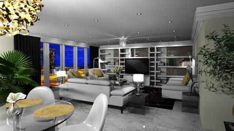 Modern Living room - Modern - Living room - by Elite1