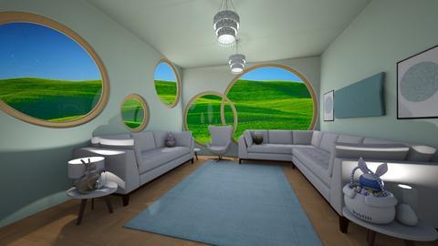 Egg In Living Room - Living room  - by LD16