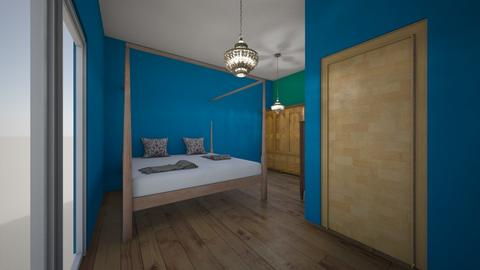 multi color bedroom - Glamour - Bedroom  - by Alex388