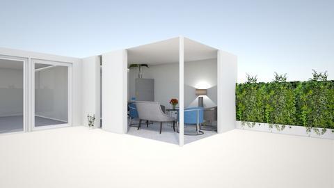 Uitbouw garage totale hui - by Sandra Kossen