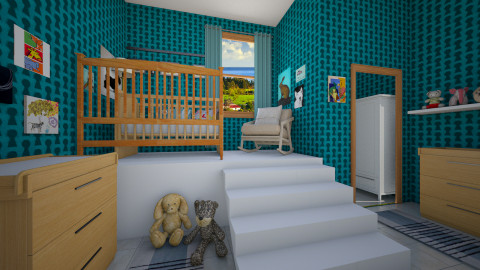 Eclectic Style - Kids room  - by starinthesky1987