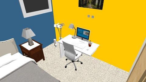 myroom - Modern - Bedroom  - by cufer98