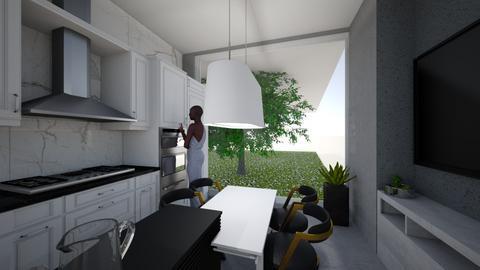 1 - Kitchen - by a__anja