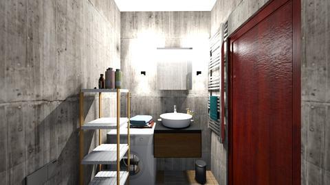 bath1 - Classic - Bathroom  - by elawitkowska