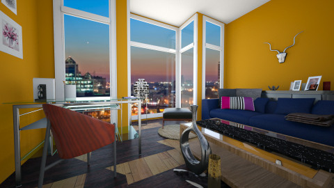 contest5 - Living room  - by marindekica22