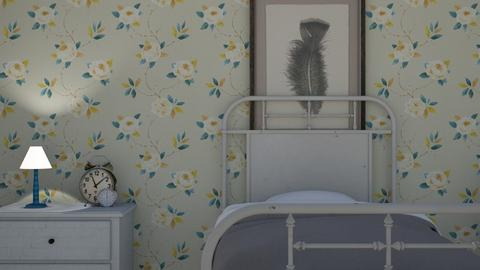 rose room - Vintage - Bedroom  - by DilettaFrax