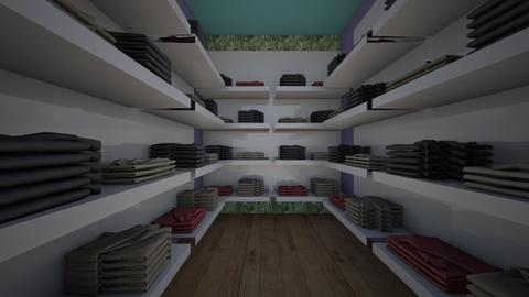 Walk In Closet 1 - Modern - by AnvithaK