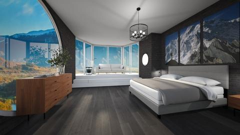 Contest_mountains - Bedroom  - by Noa Jones