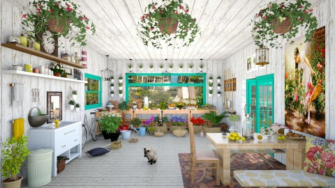 Sunday Gardening - Country - Garden - by creativediva
