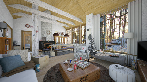 Advent Family Fun - Eclectic - Living room  - by evahassing