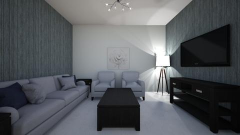 design challenge 5 - Living room  - by julesbuckleyy