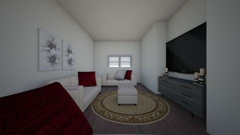 homey living room - by lana alba