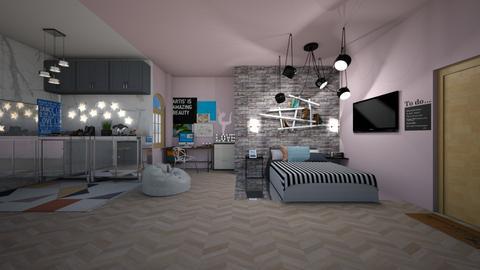 dorm number 412 - Bedroom  - by New York Mets