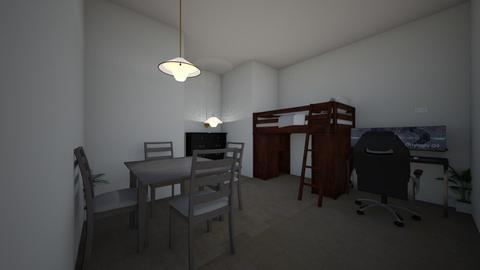 second bedroom - Modern - Bedroom  - by pjsantillan