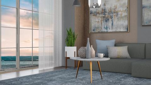 minimalist - Living room  - by Sirtzuu93