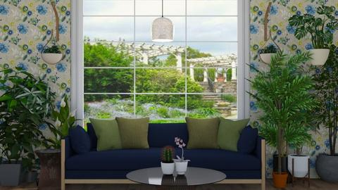 Plant Lover - Living room  - by SouthernDeco