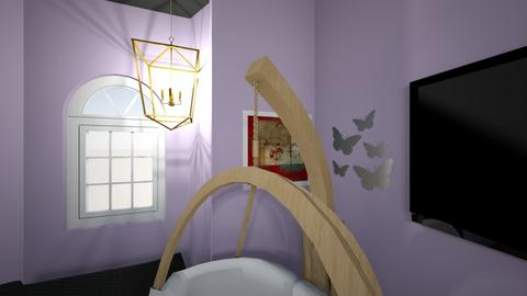 arianas disired bed room - Bedroom  - by arianaAVCHS