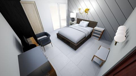 Girl and Boy Bedroom - Rustic - Bedroom  - by sunji2533