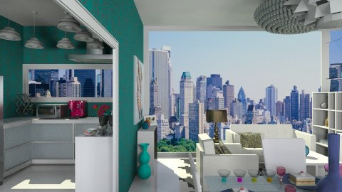 Manhattan House Style - Modern - by Leticia Camargo_175