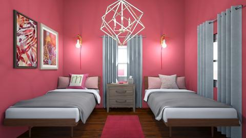 girls room - Kids room - by miristy