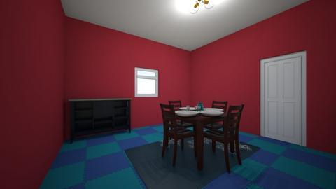 tiny house dinning room - Dining room  - by Johanna Geary