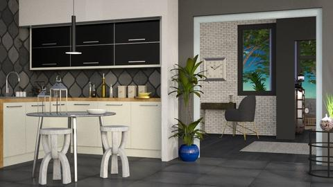 Colored Variation 2 - Modern - Kitchen  - by Gurns